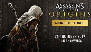 Assassin's Creed Origins Midnight Launch India - Gaming ...