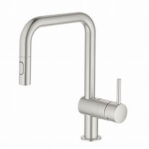 Grohe Minta Supersteel : grohe minta 32322dc2 super steel tap kitchen sinks taps ~ Watch28wear.com Haus und Dekorationen