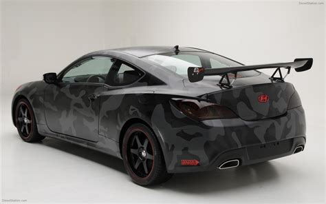 Hyundai Street Concepts Genesis Coupe Widescreen Exotic