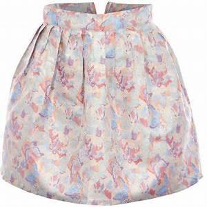 Neon Rose Skirt