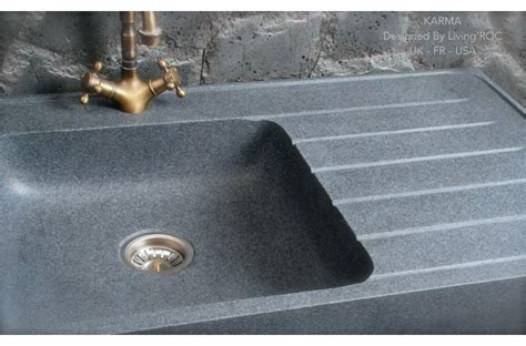 grey kitchen sink 90x60cm genuine grey granite kitchen sink 1503