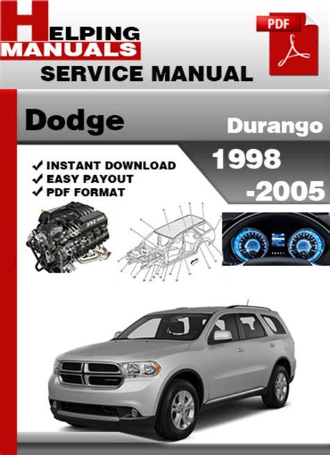 free online car repair manuals download 2003 dodge stratus electronic throttle control ac repair manual 1998 dodge durango dodge durango 1998 1999 2000 2001 2002 2003 2004 service