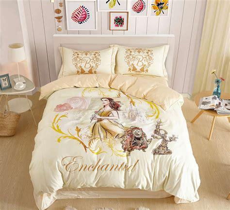 cotton princess bedding set girls rose pattern duvet