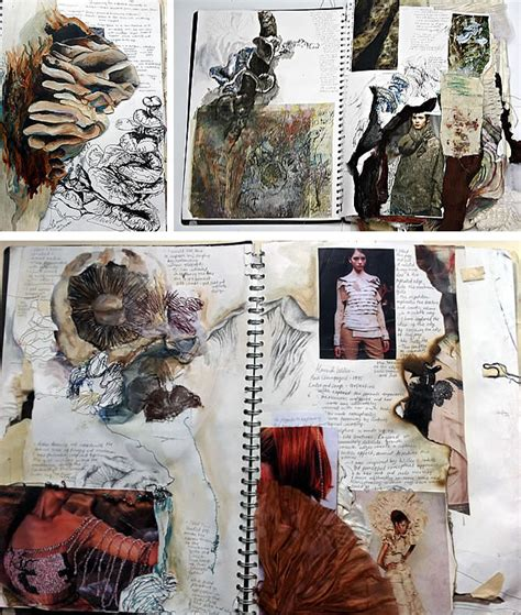 Level Textiles Beautiful Sketchbook Pages