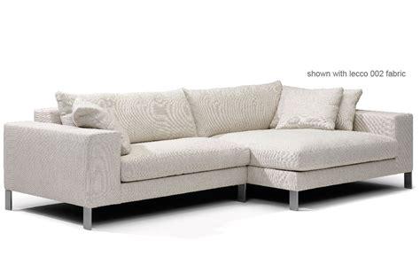 der rohe sofa plaza small sectional sofa hivemodern com