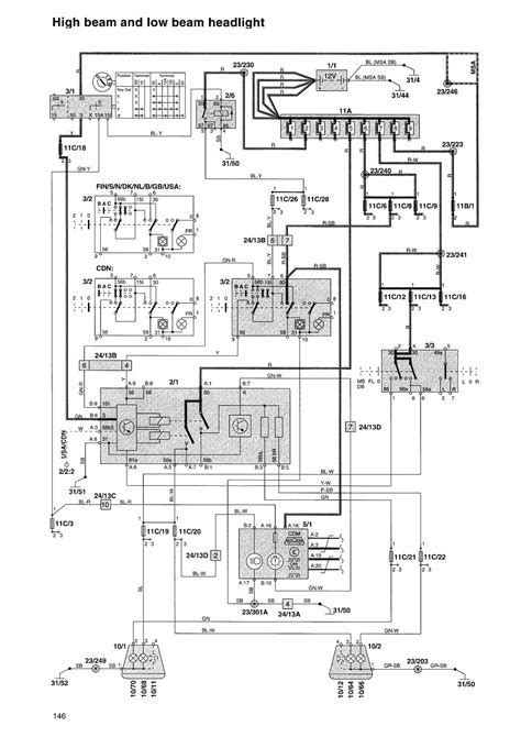 2001 volvo s40 engine diagram