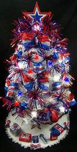 Patriotic Christmas Tree