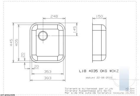 L18 4035 okg integrētā virtuves izlietne | Vannupasaule.lv