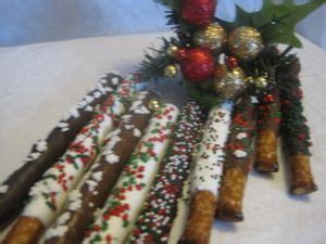 Sweet & Salty treats for the holidays! Each pretzel rods ...