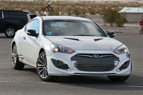 Hyundai Genesis News by New 2017 Hyundai Genesis Coupe Spied For The Time