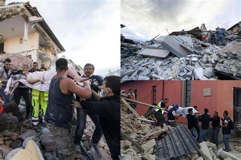 Tremblement De Terre Italie 2015 by S 233 Isme En Italie Le Bilan S Alourdit Au Moins 247 Morts