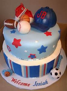 Boys Baby Shower Cake - CakeCentral com