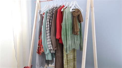 Kleiderstange Selbst Bauen project tutorial kleiderstange selber bauen