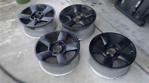 Titan 5 Spoke Wheels Painted Black Or Powder Coated