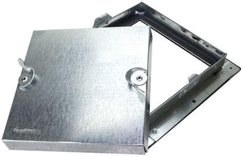 "24"" x 24"" Ductmate Low Pressure Square Framed Access Door"