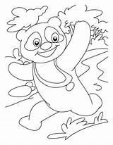 Panda Coloring Freecoloring Tigger Colour Amazing sketch template