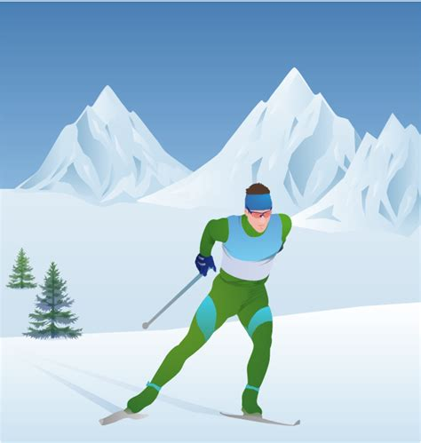 Cross Country Skis Clipart (78+)