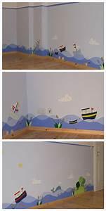 Kinderzimmer Junge Wandgestaltung : die 25 besten ideen zu wandgestaltung kinderzimmer auf pinterest babyzimmer wandgestaltung ~ Sanjose-hotels-ca.com Haus und Dekorationen