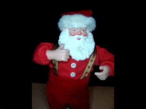jingle bell rock santa claus dancing singing animated