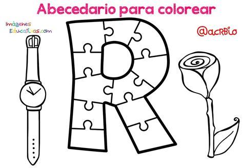 Abecedario para colorear (19) Imagenes Educativas
