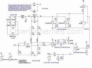 Induction Cooker Circuit Diagram 12v