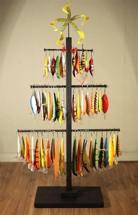 christmas tree from fishing line tutorial fishing lure tree fishing tips with fishbox fishing lures