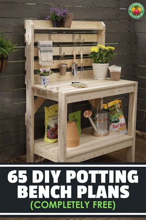 diy potting bench plans completely  diy