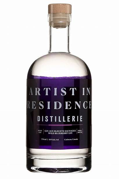 Residence Artist Gin Sauvages Saq Bleuets Aux