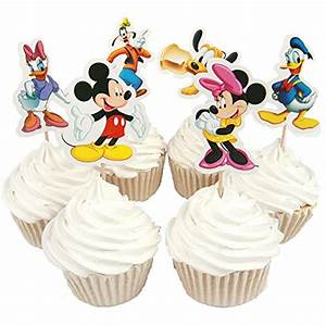 Mickey Mouse Clubhouse Cupcake toppers: Amazon.com