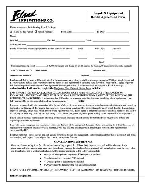 equipment hire agreement template sampletemplatess