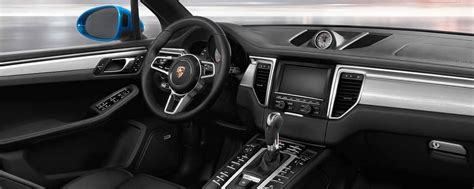 porsche macan interior features technology atlanta