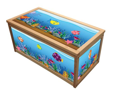 Rosali Wooden Toy Box  Storage Unit For Children Kids