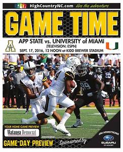 ASU Game Time - ASU vs University of Miami by Mountain ...