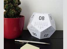 Dicecal RPG Dice Desk Calendar DudeIWantThatcom