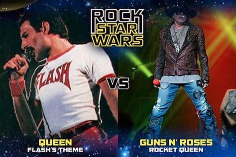 Queen, 'flash's Theme' Vs. Guns N' Roses, 'rocket Queen