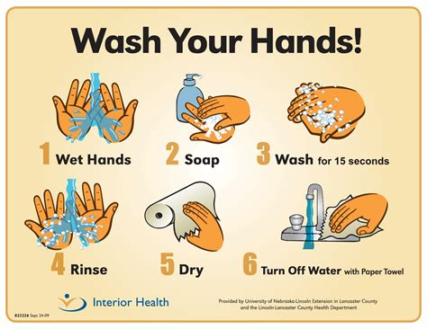 hygiene cuisine handwashing posters food safety posters page 2
