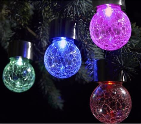 outdoor solar powered led hanging lamp decorative