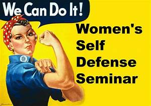 """""""Taking Control"""" A Basic Self-Defense Class for Women ..."""