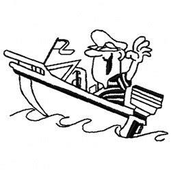 Motor Boat Outline by Motorboat Outline Embroidery Design Annthegran