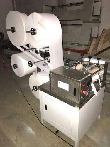 fully automatic sanitary napkin making machine  rs unit karam pura  delhi id
