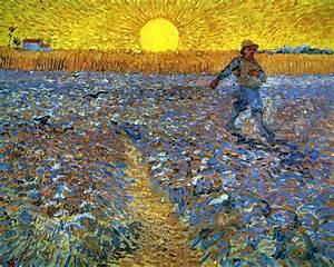 The, Sower, Sower, With, Setting, Sun, -, Vincent, Van, Gogh, -, Wikiart, Org