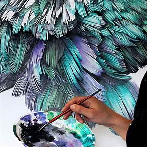 Adele Design Giant Oil Paintings Of Instagram Famous Pigeon By Belgian