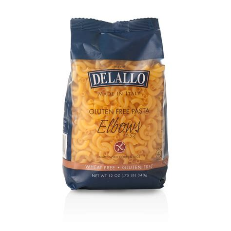 DeLallo Gluten Free Pasta Corn & Rice Elbows 12oz.