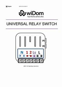 Widom Z Off Relay Switch 2 5kw Manual English