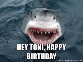 Happy Birthday Shark Meme