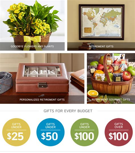 retirement gifts ideas gifts