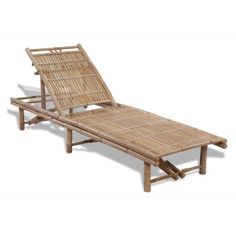 Chaise Longue Bambou by Chaise Longue R 233 Glable Bambou