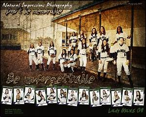 2007 2008 varisty posters blog natural impressions photography for Softball poster ideas