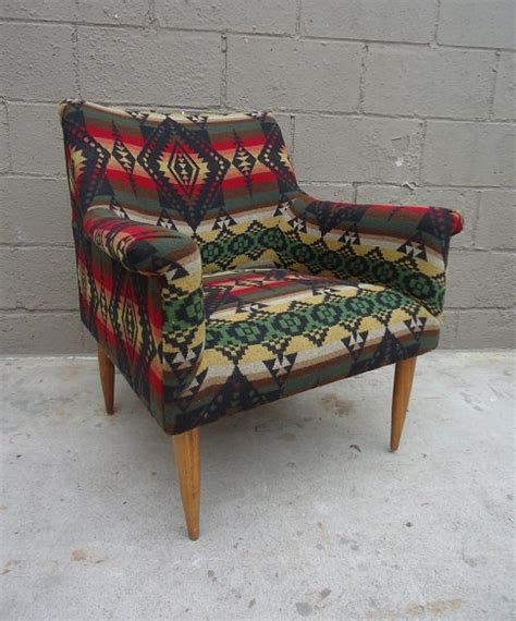nmci help desk c pendleton fancy upcycled mid century lounge chair in pendleton