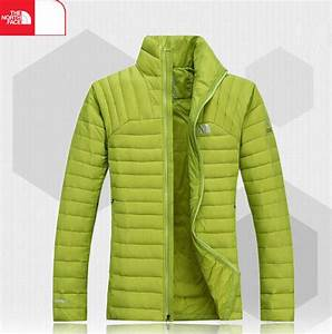 Outlet The North Face Mens Down Jacket Neon Green on Storenvy